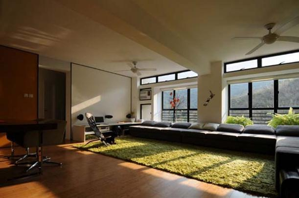 Main Room at Contemporary Interior Design Matsuki Residence