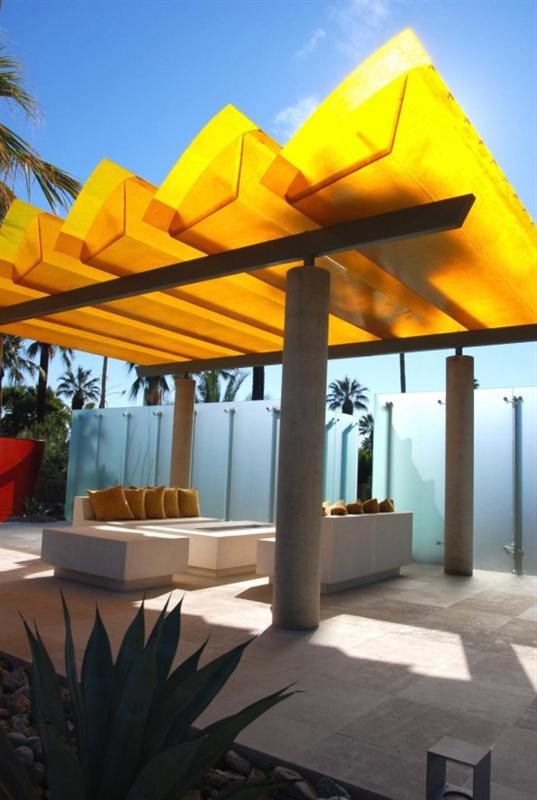 Luxury tropical Modern and Cozy Poolside Area Design Inspiration
