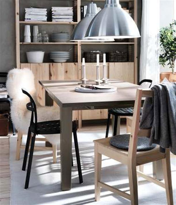 Brown Modern 2012 IKEA Dining Room Design and Decorating Ideas
