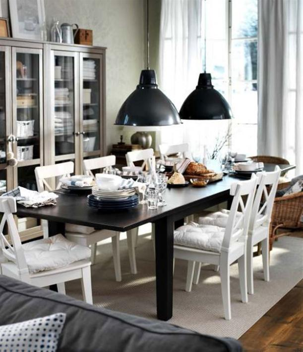 Very Modern 2012 IKEA Dining Room Design and Decorating Ideas