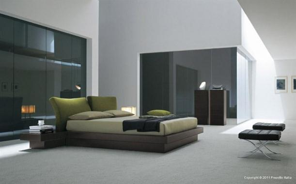 Calm Contemporary Bedrooms decorating From Presotto