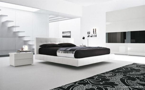 Black and white Contemporary Bedrooms decorating From Presotto