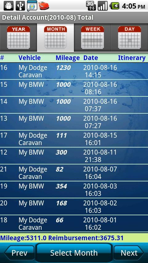 Mileage Tracker v14.04