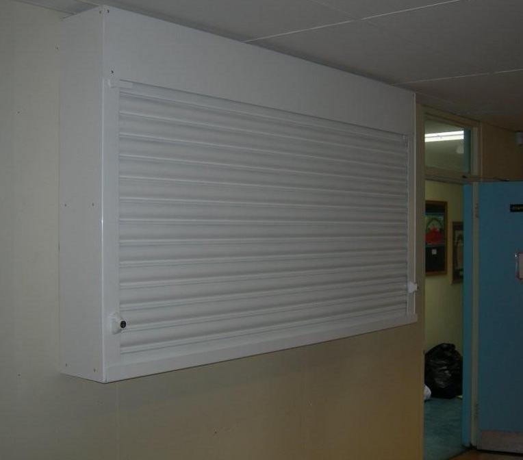 Manchester Roller Shutter Cabinet for Plasma TV