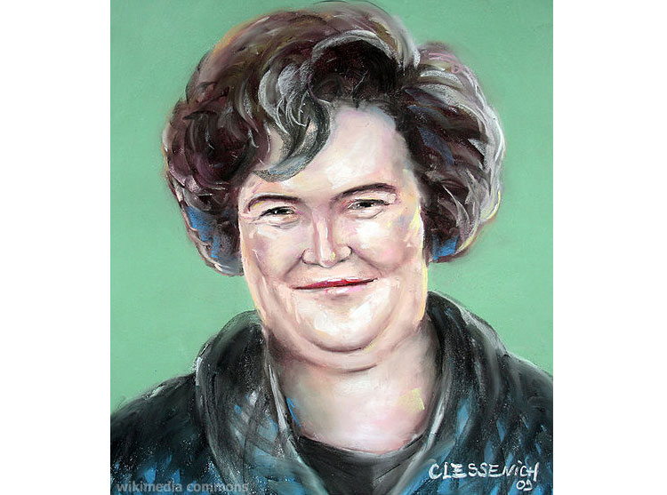 Low odds on Susan Boyle