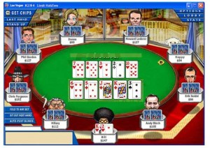 Illustration of Double Flop Hold'Em.