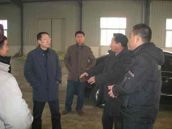 玉田县县委书记李小军来我市场参观考察