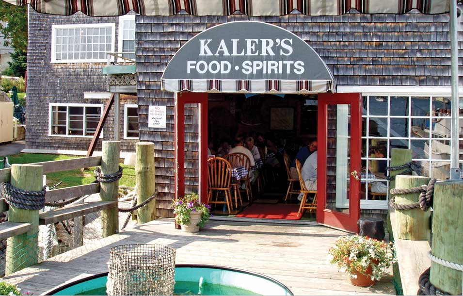 Kaler's Restaurant, beast seafood and Lobster in Boothbay Harbor