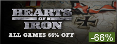 Save on all Hearts of Iron