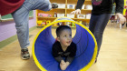 Brayden Viau, 3, plays at a Calgary daycare owned by Edleun Group Inc.