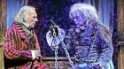 Stephen Hair as Scrooge and Robert Graham Klein as Jacob Marley in 'A Christmas Carol' at Theatre Calgary