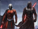 The Sith Emperor's first representatives to return to Republic space are well-known names: Darth Revan and Darth Malak.