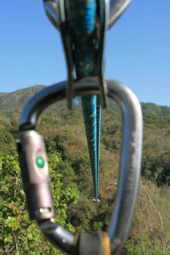 Zip Line Fun in Mexico