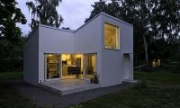 Minimalist Small Home Design with Swedish Style House