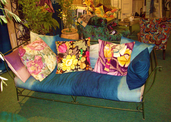 Boeme design, furnishings and fabrics at Tent