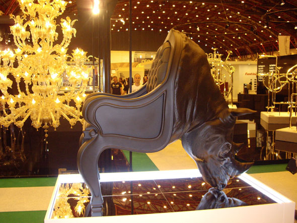 Rhino Chair at 100% Design