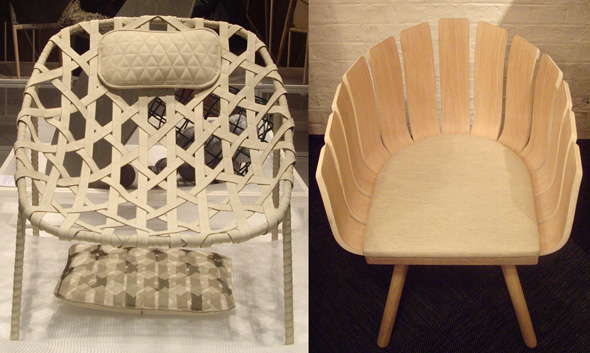 Chair Designs at Tramshed during the London Design Festival