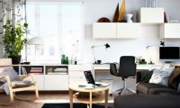 Modern 2012 IKEA Living Room Design and Decorating Ideas