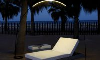 Outdoor Lighting Design Ideas with LED Lighting and Fluorescent Lamp by Vibia