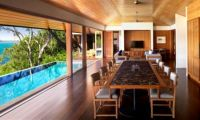Luxury Waterfront Villa Combine with Wooden Material Home Design