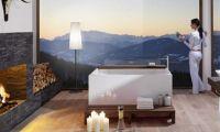 Cozy and Elegance Modern Free Standing Bathtub by Treos