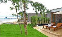 Unique and Unusual Bedroom Interior Design with Stone Wall – X2 Resort Kui Buri