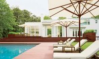 Contemporary Outdoor Patio Design by S. Russell Groves