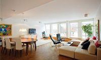 Contemporary Swedish Style Apartment Interior with Minimalist Design
