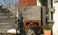 Stylish Outdoor Fireplace by Zeno – Bring Special Atmosphere into Your Outdoor Space