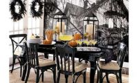 Black and White Halloween Decorating Ideas