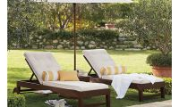 Elegant Single Chaise and Cushion – Great Outdoor Furniture