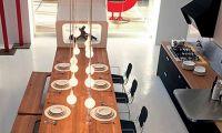Modern Urban Kitchen Design by Schiffini