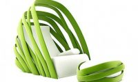 Unique and Modern Nature Inspired Lounge Chair Design – Fresh Green Looks Furniture