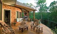 Contemporary Craftsman House Design – with Country Style Interior Decorating Ideas