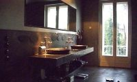 A Classic Luxury Country Style Bathroom Sink