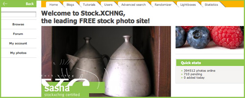 get free stock photography from stockxchng