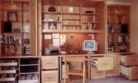 Creative and Useful Home Office Wall Cabinet