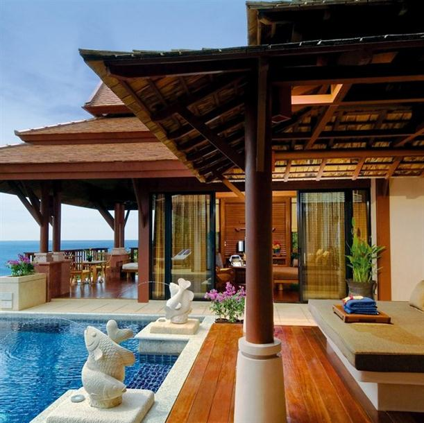 The interior and spa outside design on Pimalai Resort and Spa