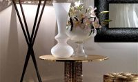 Luxury Metal Coffee Table with Swarovski Crystals by Fiorentino Home