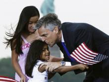 Ruckus over ad mocking Huntsman's adopted Indian, Chinese daughters