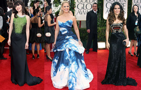 Best and Worst dressed at 2012 The Golden Globes