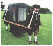 Picture of sedan chair
