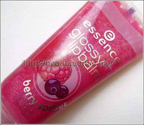 Essence Glossy Lipbalm Berry Sorbet Review