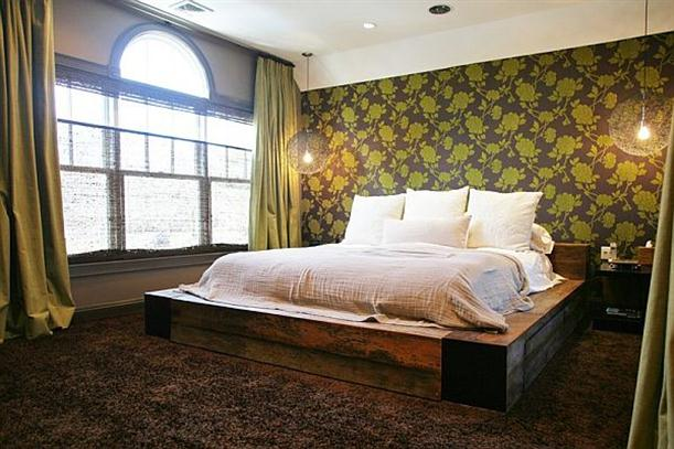 Bedroom Elegant and Modern Wallpapers Interior Decorating Ideas