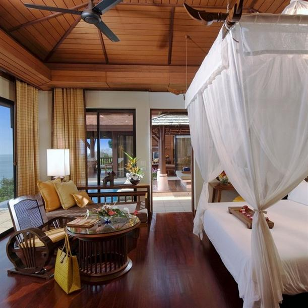 The bedroom interior design of Pimalai Resort and Spa