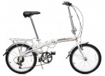 "Pakka 20"" Folding Bike 6 Speed Shimano Gear"