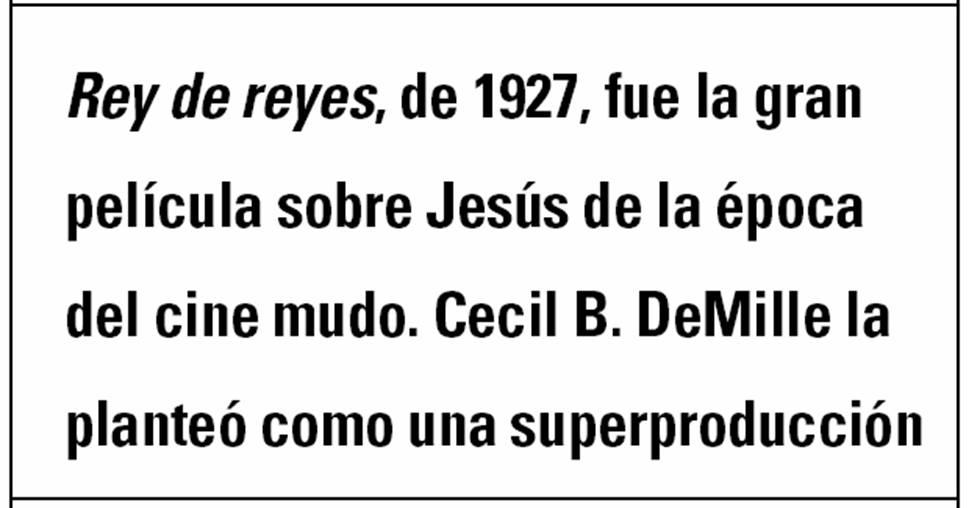 La imagen de Jesucristo en el cine -  ¿Qué imagen de Jesús nos ha transmitido el cine? 6
