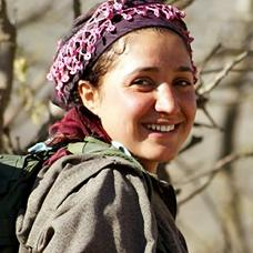 Young Kurdish woman.