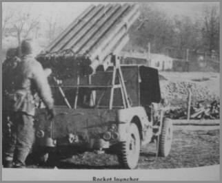 44th Infantry Rocket Launchers