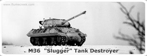 m36 jackson sluuger tank destroyerTD M36B GMC M36